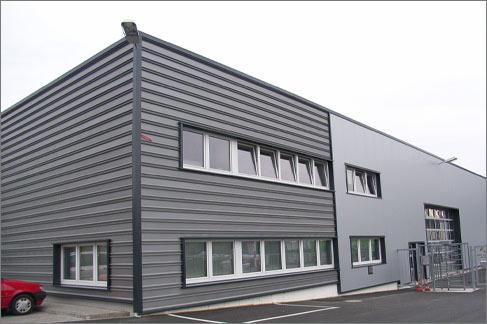 Fassadensanierung BSW Berleburger Schaumstoffwerk GmbH Bad Berleburg