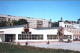 Messehallen, Nizhny Novgorod, Russland