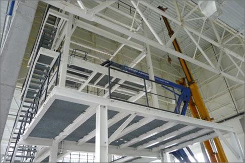 Stahlbühne in Polen