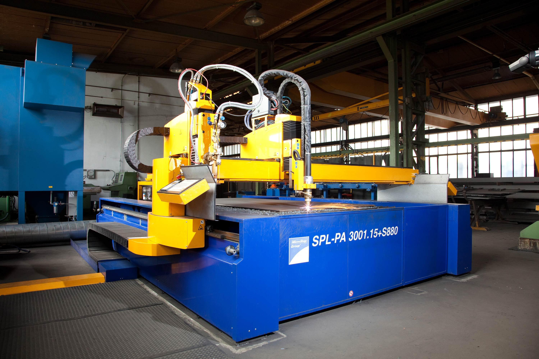 CNC-gesteuerte Plasmaschneidanlage