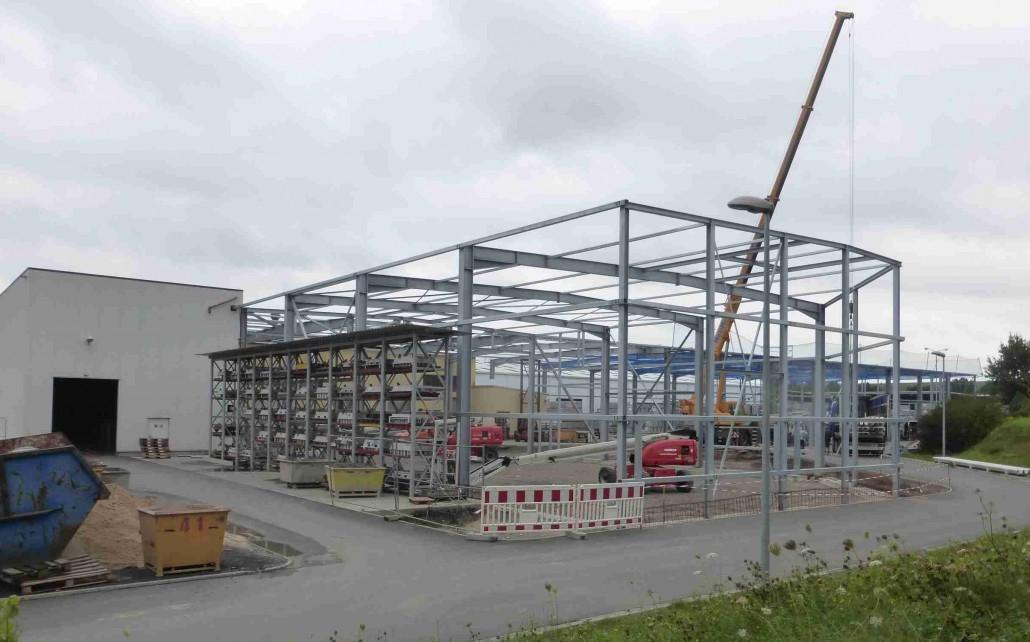 Sinner Neubau Einer Produktionshalle In Stadtroda