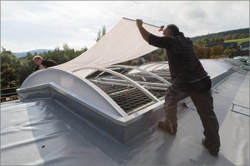 Dachsanierung Fenster