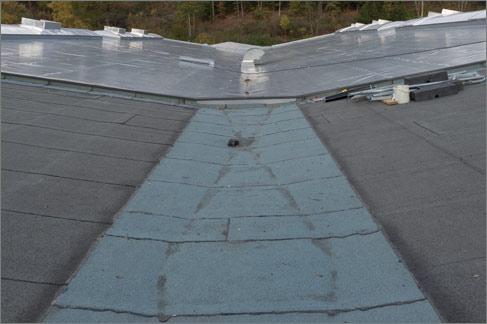 Sanierung Dach Industriehalle