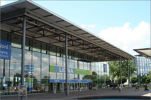 Haupteingang Deutsche Messe AG Hannover
