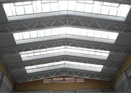 Gymnasium Werthingen - Hallenbau Referenz