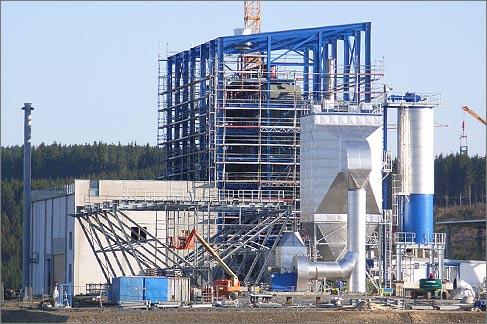 Biomasseheizkraft in Erndtebrück