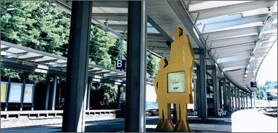 Verlängerung von ICE-Bahnsteigüberdachungen in Wuppertal.