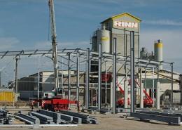 Stahlbau-Produktionshalle Rinn Beton Heuchelheim