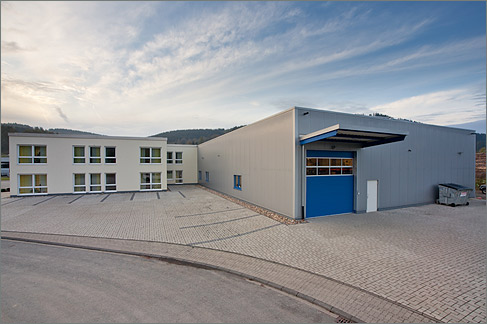Logistikzentrum Schünke + Bockmühl Kreuztal