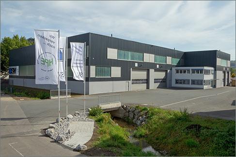 Industriehalle SIV Siegerländer Industrieverpackung Kreuztal