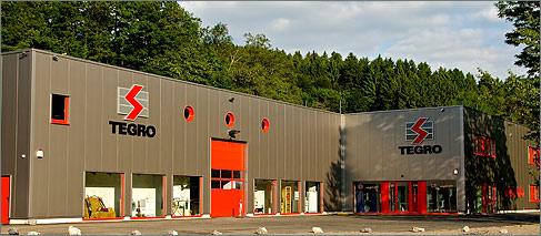 Lagerhalle Tegro Elektro-Großhandel Freudenberg