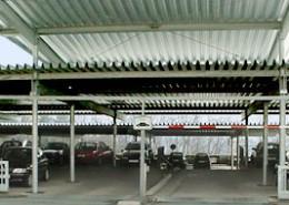 Parkdecküberdachung, Universität Siegen