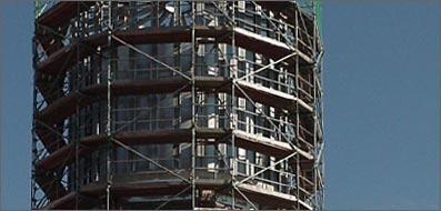 Sanierung Wasserturm, Weselberg.