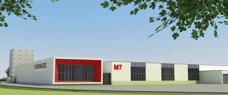 Produktionshalle M7 Mennekes