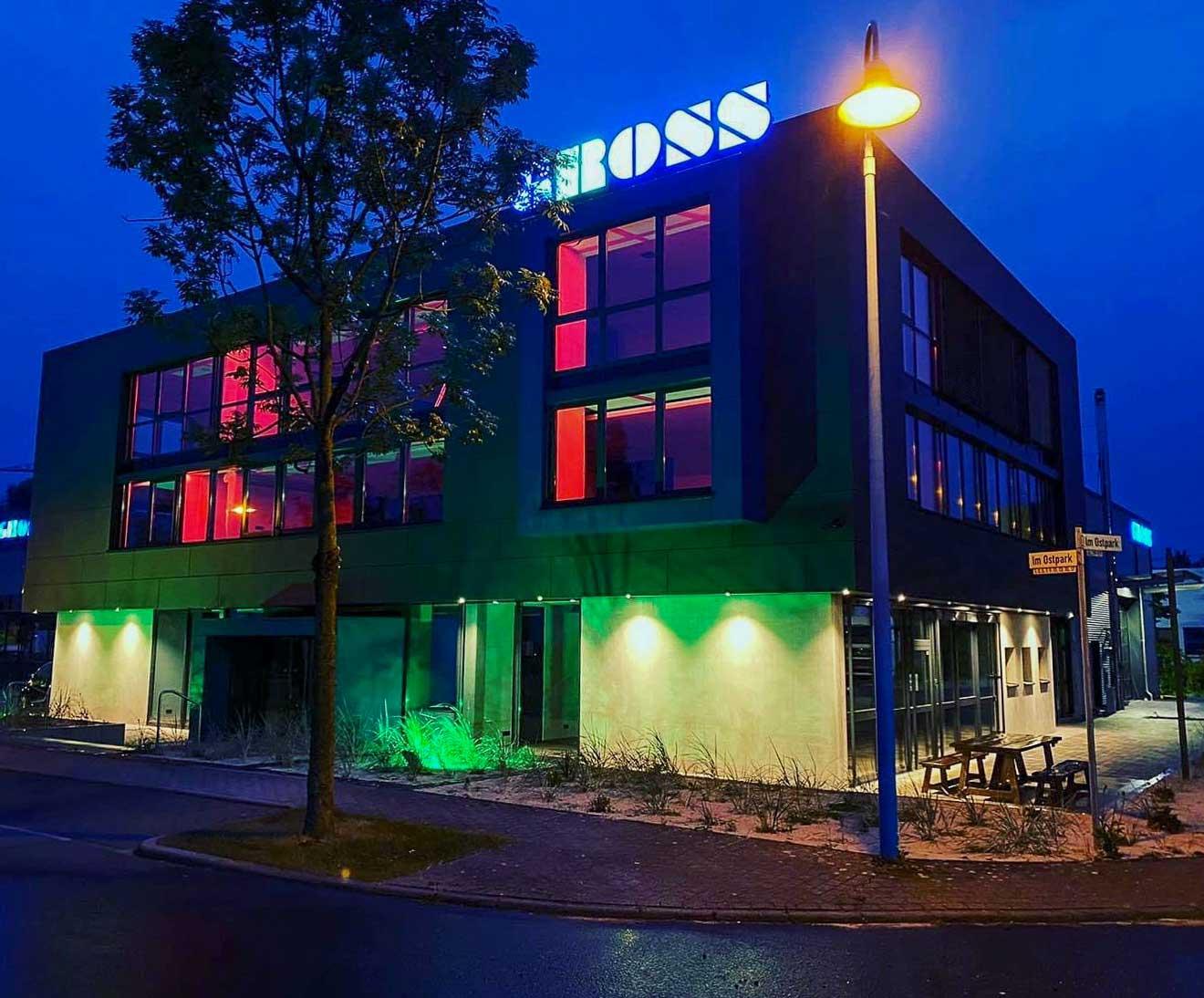 Neubau Lagerhalle Gross GmbH Wettenberg