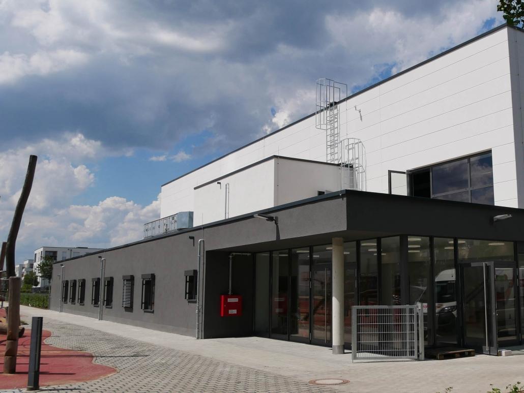 Neubau einer Dreifach-Sporthalle